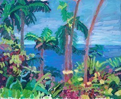 Honeymoon Daydream by Leila Barton -  sized 22x18 inches. Available from Whitewall Galleries